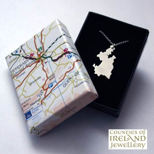 County Tipperary Map Pendant